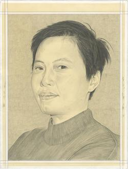 Drawing of Jessamine Batario by Phong Bui.
